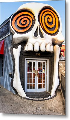 The Vortex In Eclectic Little Five Points Metal Print by Mark E Tisdale