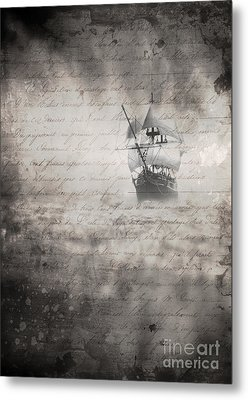 The Voyage Metal Print by Edward Fielding