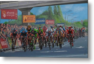 The Vuelta Metal Print by Paul Meijering