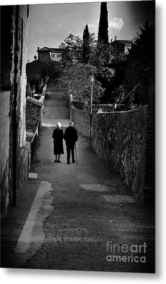 The Walk Of Life Metal Print