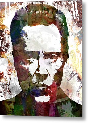 The Walken Metal Print