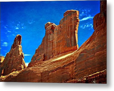The Wall Metal Print by Marty Koch