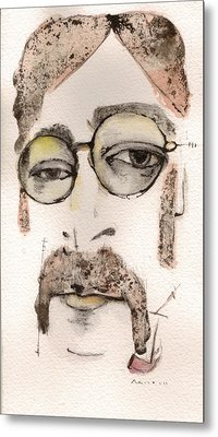 The Walrus As John Lennon Metal Print