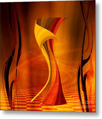 The Waltz Metal Print by Johnny Hildingsson
