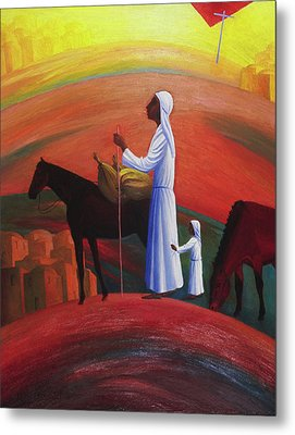 The Wandering Mary Magdalene Metal Print