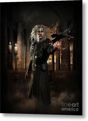 The Warlock Metal Print by Shanina Conway