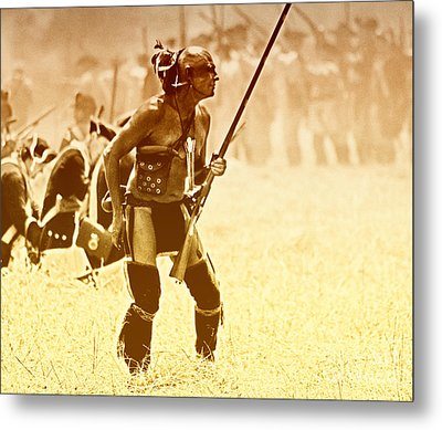 The Warrior Metal Print by Jim Cook