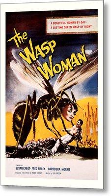 The Wasp Woman 1959 Metal Print