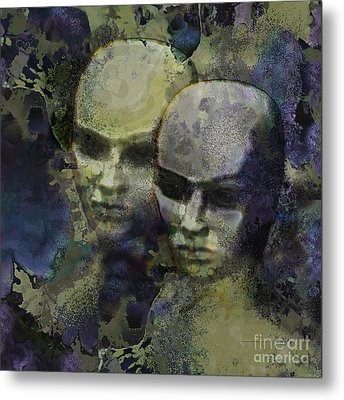 The Watchers Metal Print