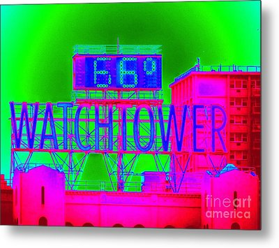 The Watchtower Metal Print