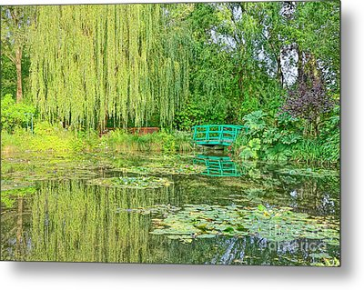 The Water Garden Metal Print