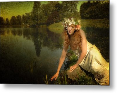 The Water Maiden Metal Print by Dick Wood