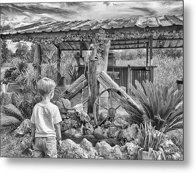 Metal Print featuring the photograph The Watering Hole by Howard Salmon