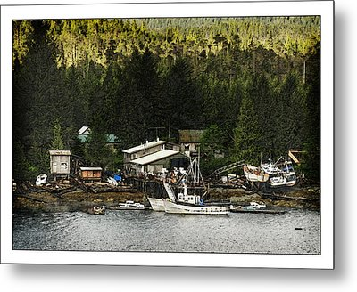 Metal Print featuring the photograph The Waters Edge by Davina Washington