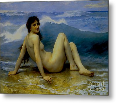 The Wave Metal Print by Ante Barisic