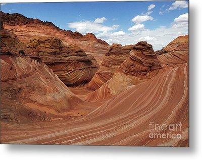 The Wave Center Of The Universe Metal Print by Bob Christopher