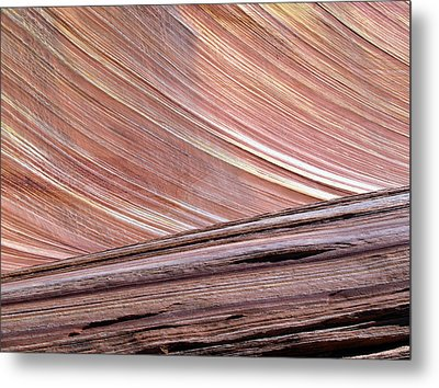 Metal Print featuring the photograph 'the Wave' North Coyote Buttes 02 by Jeff Brunton