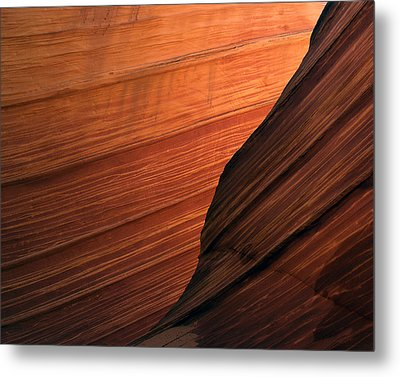 Metal Print featuring the photograph 'the Wave' North Coyote Buttes 47 by Jeff Brunton