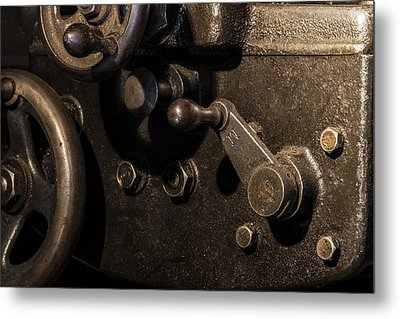 The Way Back Machine Metal Print by Andrew Pacheco