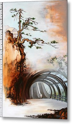 Metal Print featuring the painting The Way by Dave Platford