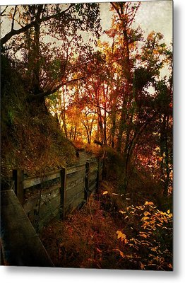 The Way Home Metal Print by Leah Moore