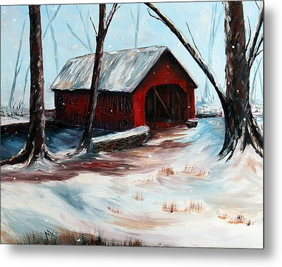 The Way Home Metal Print by Meaghan Troup