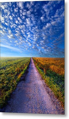 The Way Is Clear Metal Print