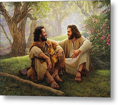 The Way Of Joy Metal Print by Greg Olsen