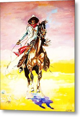 The Way Of The Vaquero Metal Print