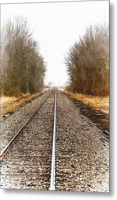 the Way Out Metal Print by Chuck Kugler