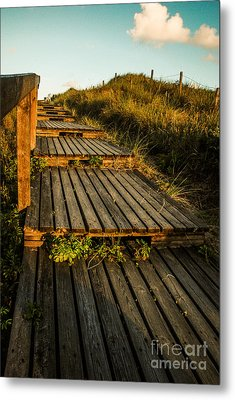 The Way To The Sea Metal Print by Hannes Cmarits