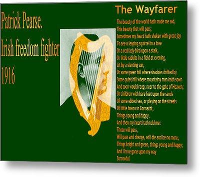 The Wayfarer Metal Print by Conor Murphy