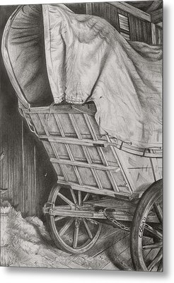 The Weary Traveler Metal Print by Chelsea Blair