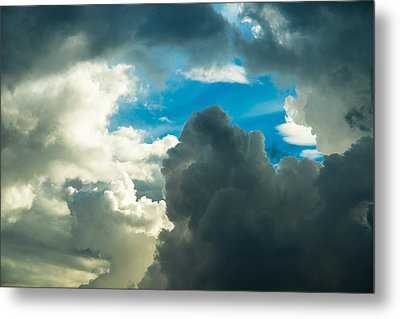 The Weather Is Changing Metal Print by Alexander Senin