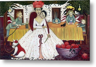 The Wedding Metal Print by Jennifer Taylor
