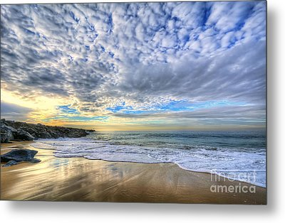 The Wedge - Newport Beach Metal Print by Eddie Yerkish