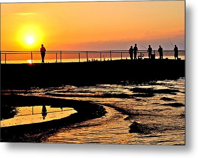 The Weekend Metal Print by Frozen in Time Fine Art Photography