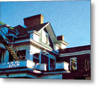 Metal Print featuring the photograph The Welland Club 5 by The Art of Marsha Charlebois