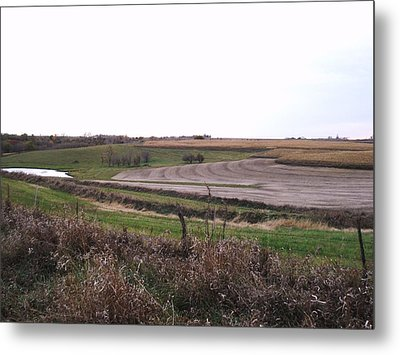 Metal Print featuring the photograph The West Fields by J L Zarek