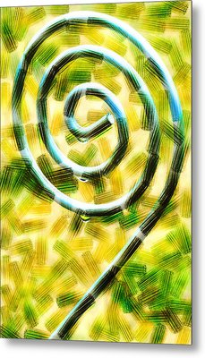 The Wet Whirl  Metal Print by Steve Taylor