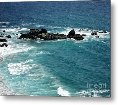 Metal Print featuring the photograph The Whale Rock by Carla Carson
