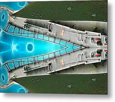 The Whale Metal Print by Wendy J St Christopher