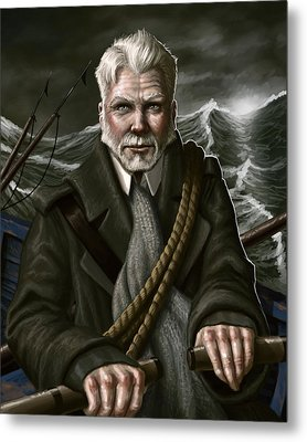 The Whaler Metal Print by Mark Zelmer