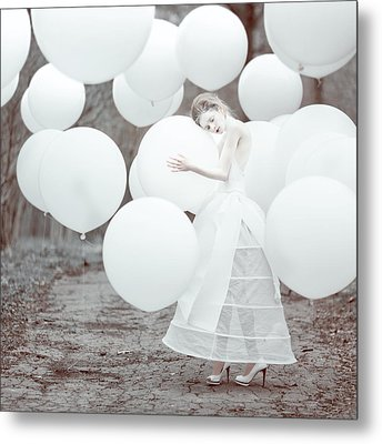 The White Dream Metal Print by Anka Zhuravleva