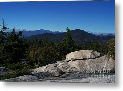 The White Mountains Metal Print by Steven Valkenberg
