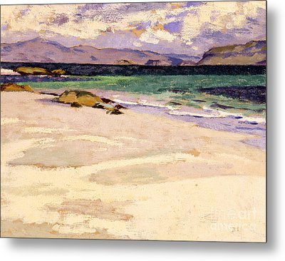 The White Strand  Iona Metal Print by Francis Campbell Boileau Cadell