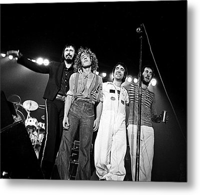 The Who 1975 Metal Print by Chris Walter
