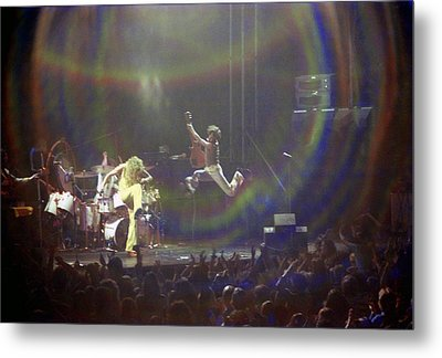 The Who Jump Metal Print by Mike Norton