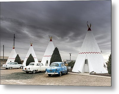 The Wigwam Motel In Holbrook Metal Print