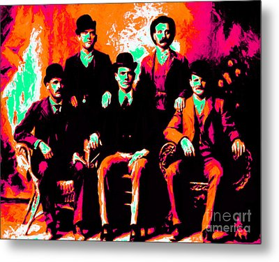 The Wild Bunch 20130212p38 Metal Print by Wingsdomain Art and Photography